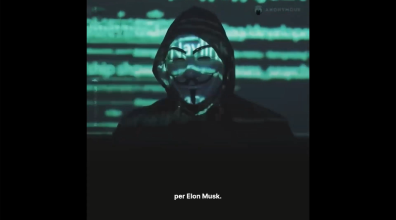 Anonymous vs Elon Musk